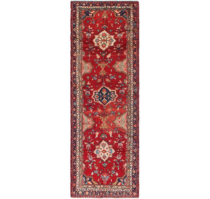 3' 5 x 10' 10 Hamedan Persian Runner ...