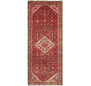 Link to 107cm x 282cm Hossainabad Persian Runner Rug