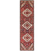 Link to 2' 4 x 9' Hossainabad Persian Runner Rug