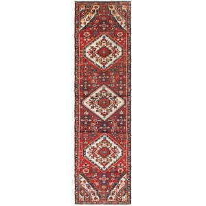 Link to 2' 4 x 9' Hossainabad Persian Ru... item page