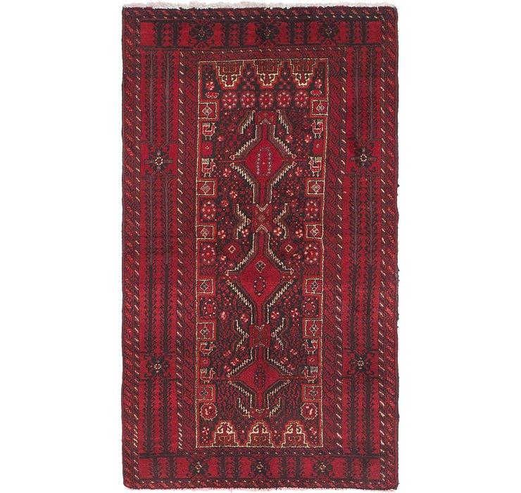 3' 5 x 6' 3 Ferdos Persian Rug