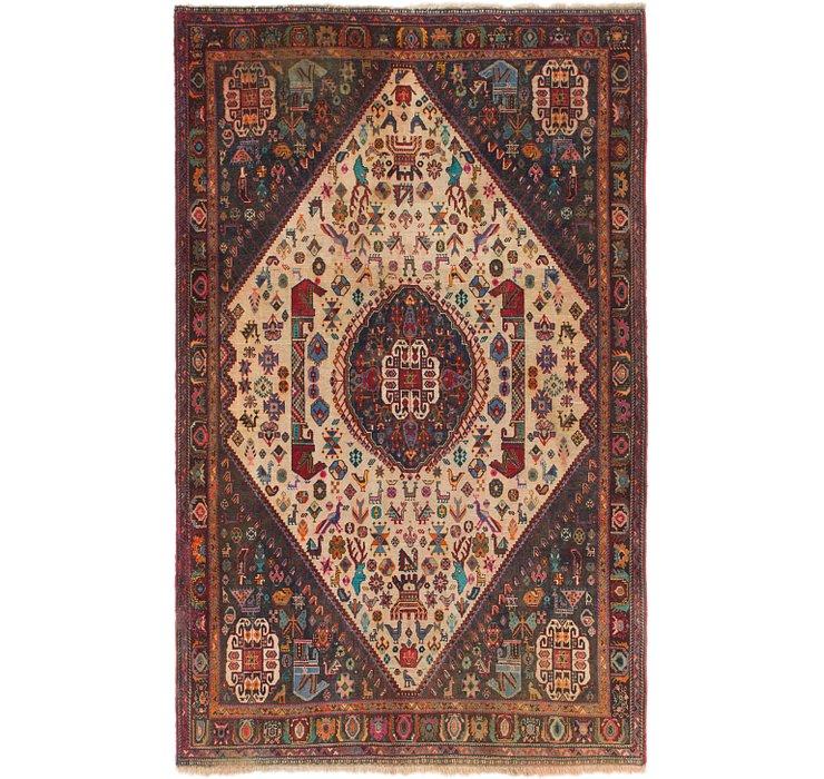 5' 3 x 8' 6 Sirjan Persian Rug