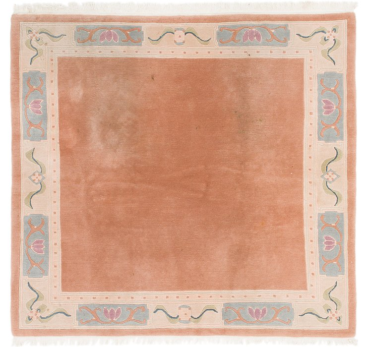 HandKnotted 7' 8 x 8' Nepal Square Rug