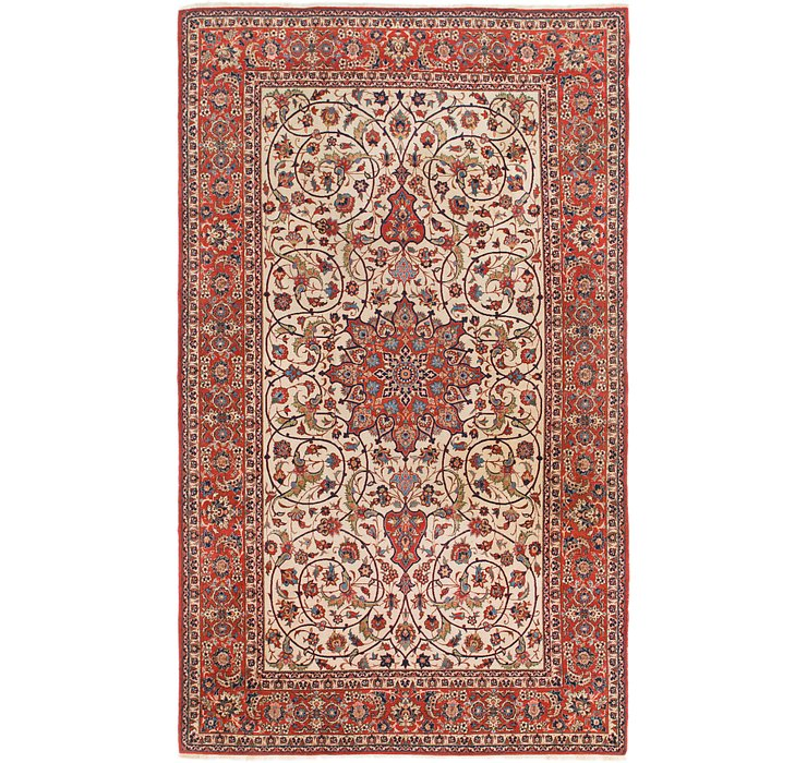 6' 10 x 11' 4 Isfahan Persian Rug