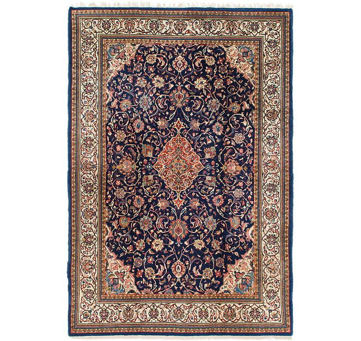 7' 4 x 10' 8 Sarough Persian Rug