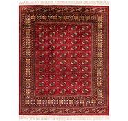 Link to 8' 4 x 10' Torkaman Persian Rug