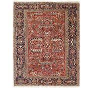 Link to 8' 4 x 11' Heriz Persian Rug