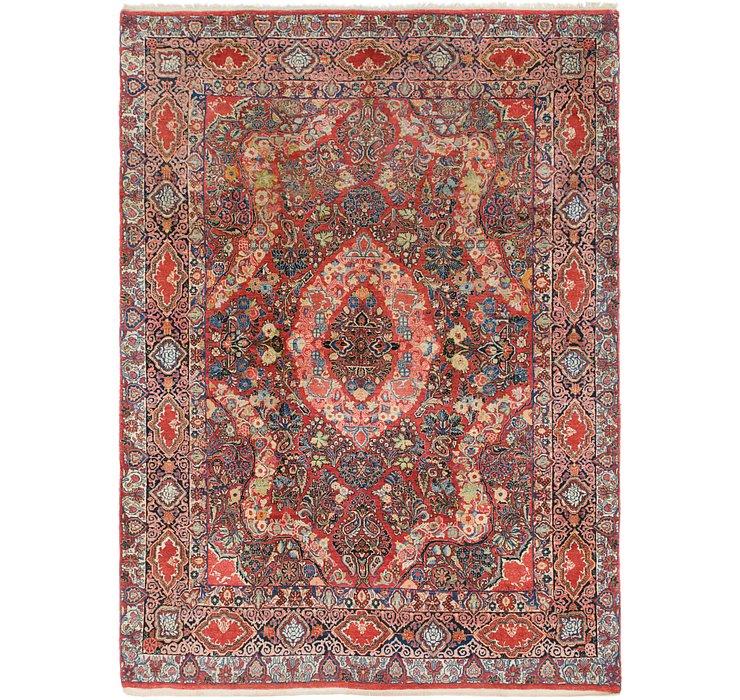 8' 9 x 12' 2 Kerman Persian Rug
