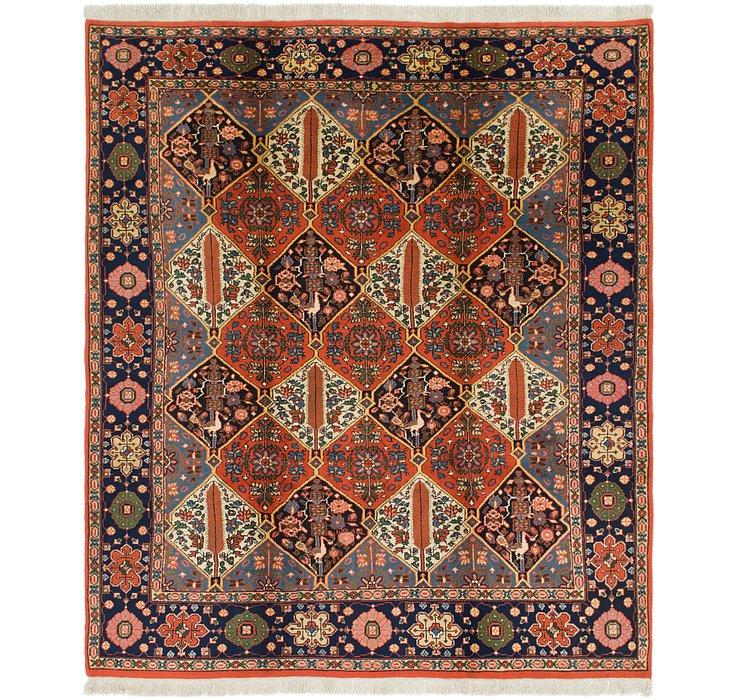 HandKnotted 8' 10 x 10' 4 Bakhtiar Rug