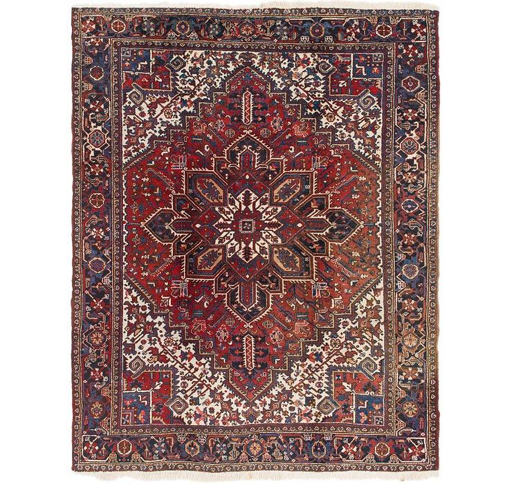 8' 7 x 10' 10 Heriz Persian Rug