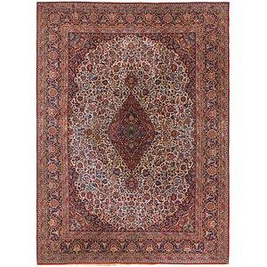 8' 8 x 12' 2 Kashan Persian Rug