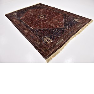 Link to 213cm x 292cm Ghashghaei Persian Rug item page