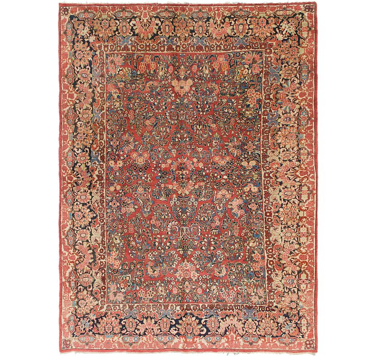 9' x 12' 3 Sarough Rug
