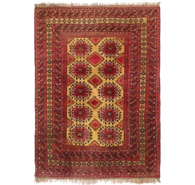 7' x 10' Afghan Ersari Rug