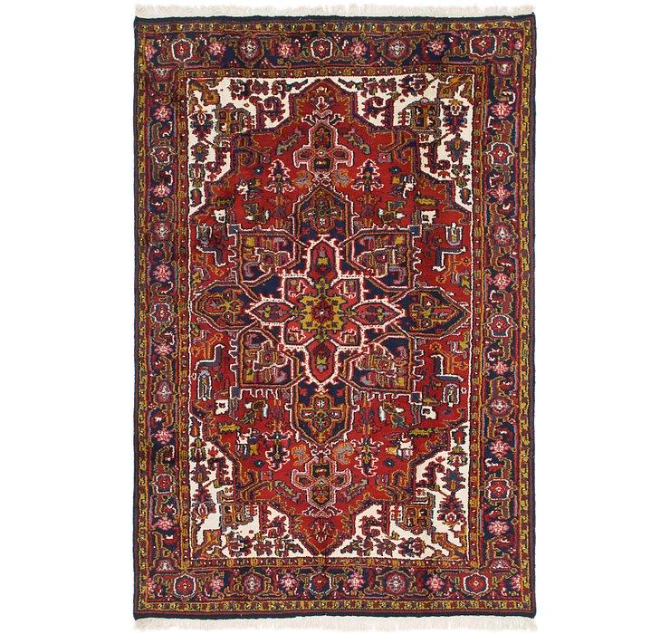 6' 4 x 9' 7 Heriz Persian Rug