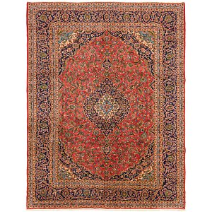 Link to 297cm x 390cm Kashan Persian Rug item page