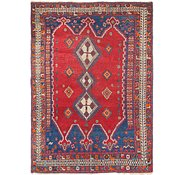 Link to 5' x 7' 2 Hamedan Persian Rug