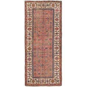 4' 6 x 10' 6 Shiraz Persian Runner Rug