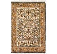 Link to 4' 9 x 7' Qom Persian Rug
