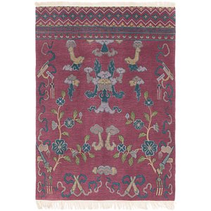 HandKnotted 4' 2 x 6' Nepal Rug