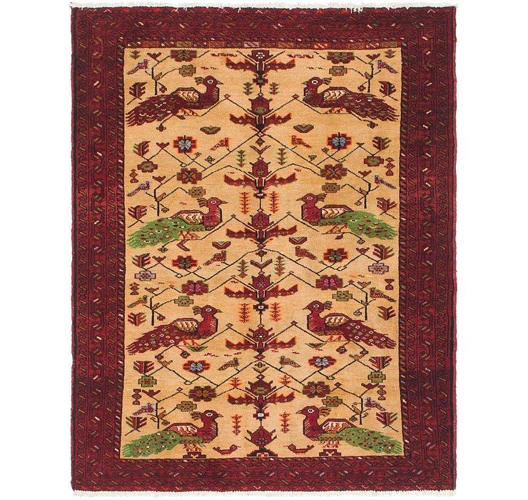 4' 4 x 5' 5 Bokhara Oriental Rug