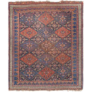 Link to 4' 9 x 5' 8 Shiraz Persian Rug item page