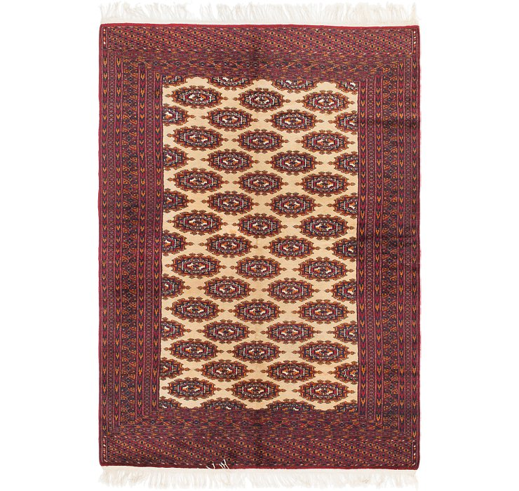 5' 3 x 7' 9 Bokhara Oriental Rug