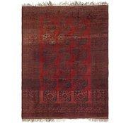 Link to 7' 5 x 10' Afghan Akhche Oriental Rug