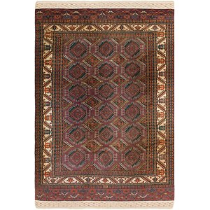 Link to 7' 3 x 11' Bokhara Oriental Rug item page