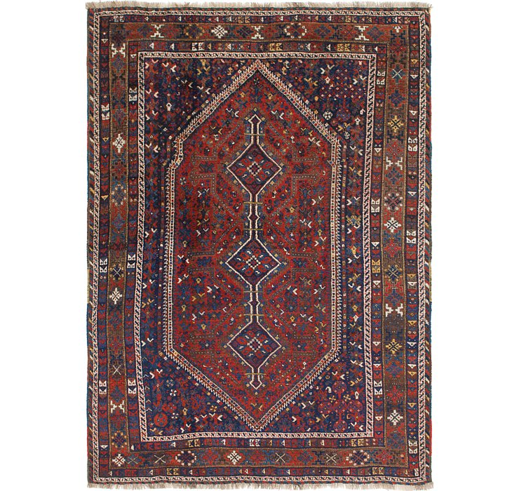 7' 3 x 10' 4 Shiraz Persian Rug