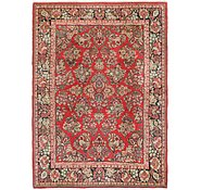Link to 6' 5 x 9' Sarough Persian Rug