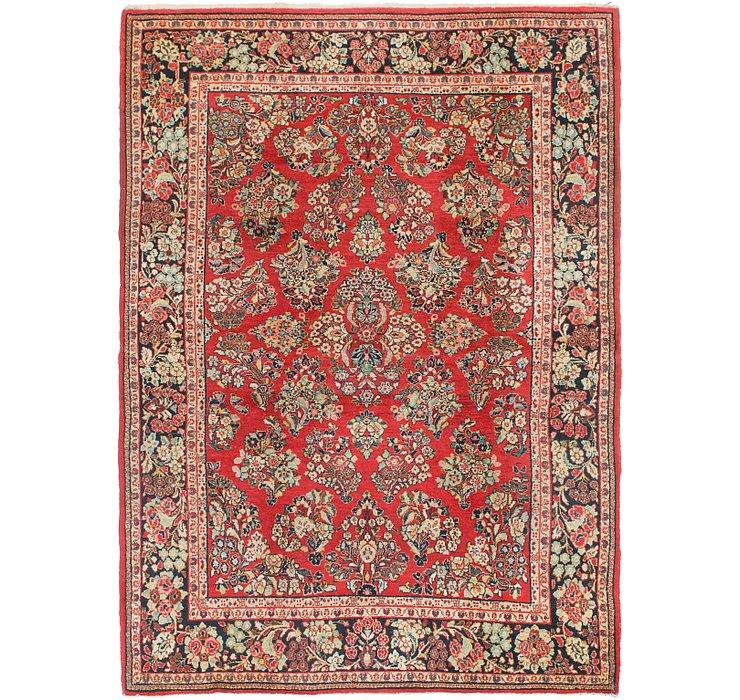 6' 5 x 9' Sarough Persian Rug