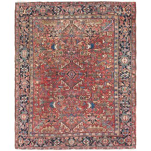 Link to 6' 10 x 8' 3 Heriz Persian Rug item page