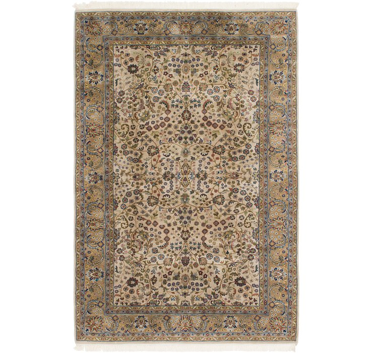 6' 6 x 10' Sarough Rug