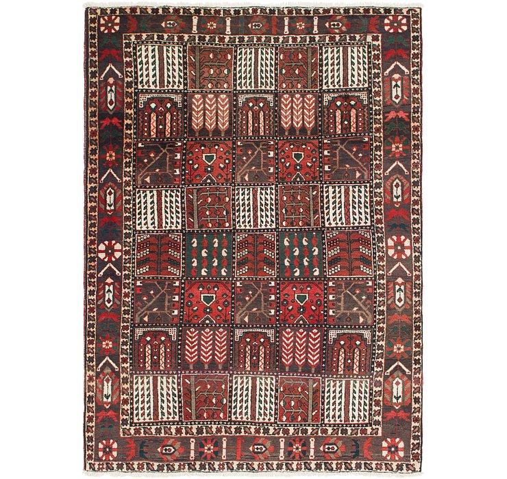 6' 10 x 10' Bakhtiari Persian Rug