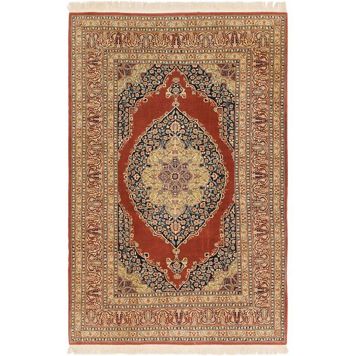 6' 6 x 10' Tabriz Oriental Rug