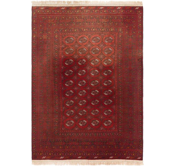 6' 10 x 9' 10 Afghan Mouri Rug