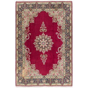 Link to 6' 9 x 10' 2 Kerman Persian Rug item page