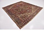 Link to 8' 3 x 8' 9 Heriz Persian Square Rug