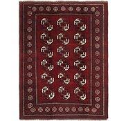 Link to 7' 4 x 10' Afghan Ersari Oriental Rug