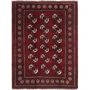 7' 4 x 10' Afghan Ersari Oriental ...