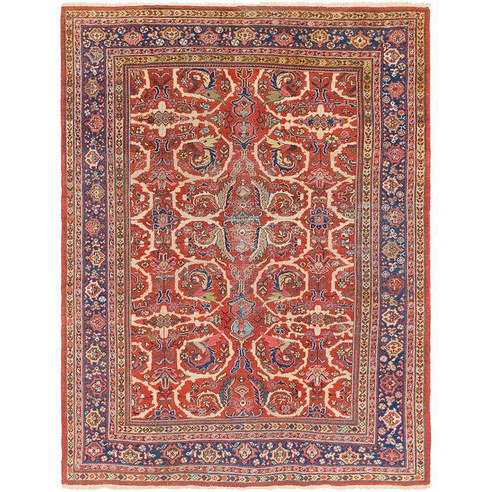 7' 6 x 10' Heriz Persian Rug