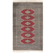 Link to 3' 2 x 5' 5 Bokhara Oriental Rug