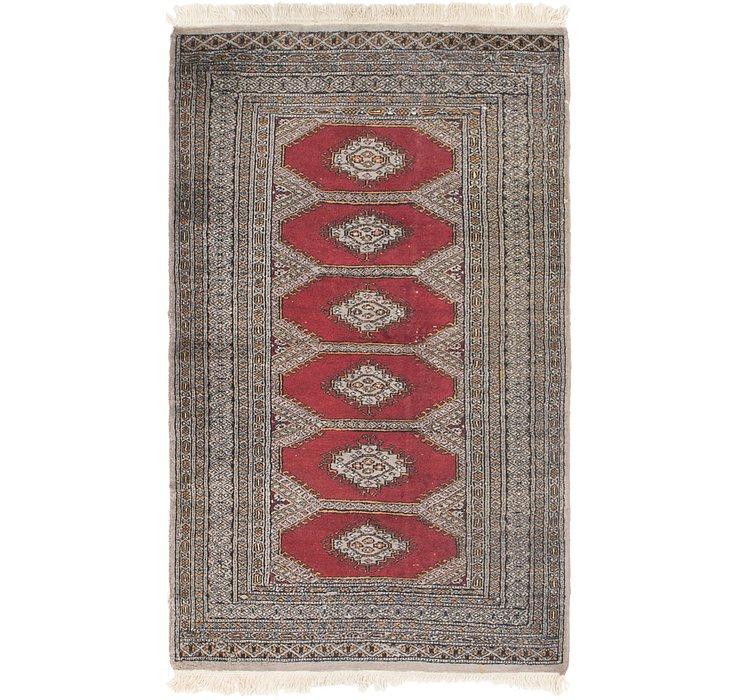 3' 2 x 5' 5 Bokhara Oriental Rug