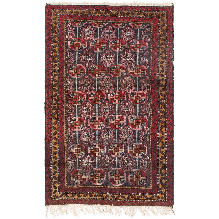 3' 8 x 6' 2 Balouch Persian Rug