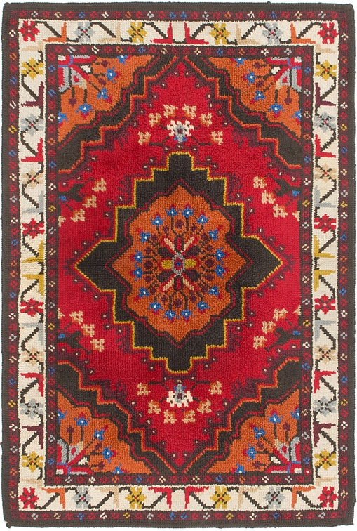 Red  3' 10 x 5' 8 Moroccan