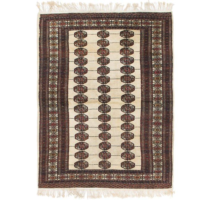 4' x 5' 10 Bokhara Oriental Rug