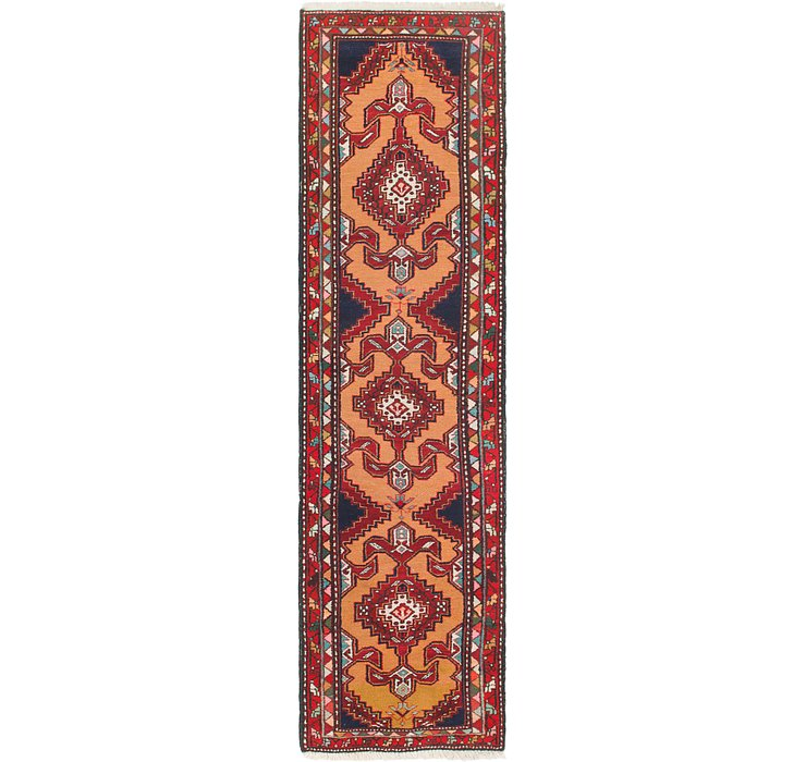 2' 6 x 10' 2 Ardabil Persian Runner ...
