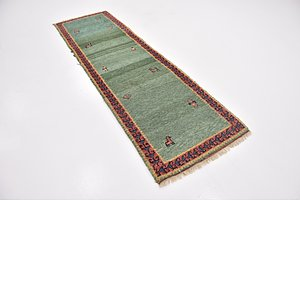Link to 2' 8 x 9' 2 Gabbeh Runner Rug item page