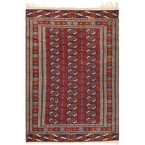 Unique Loom 3' 10 x 6' Bokhara Oriental Rug